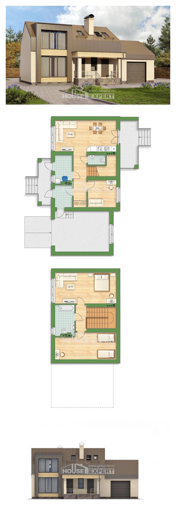 Проект дома 150-015-Л | House Expert