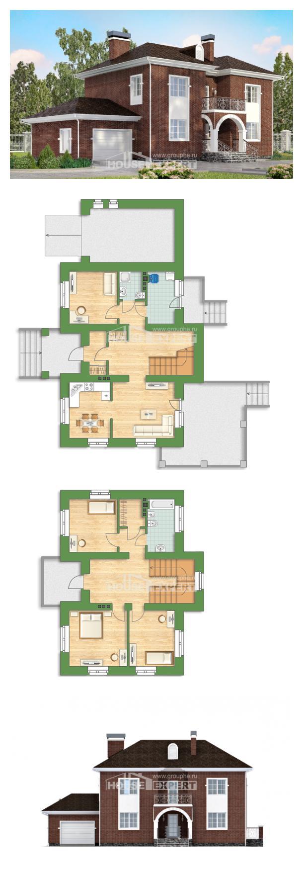 Проект дома 180-006-Л | House Expert
