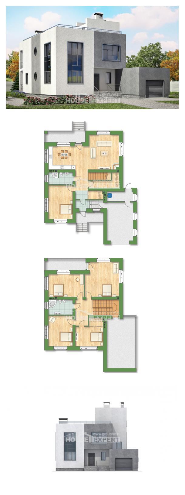 Проект дома 255-001-П   House Expert