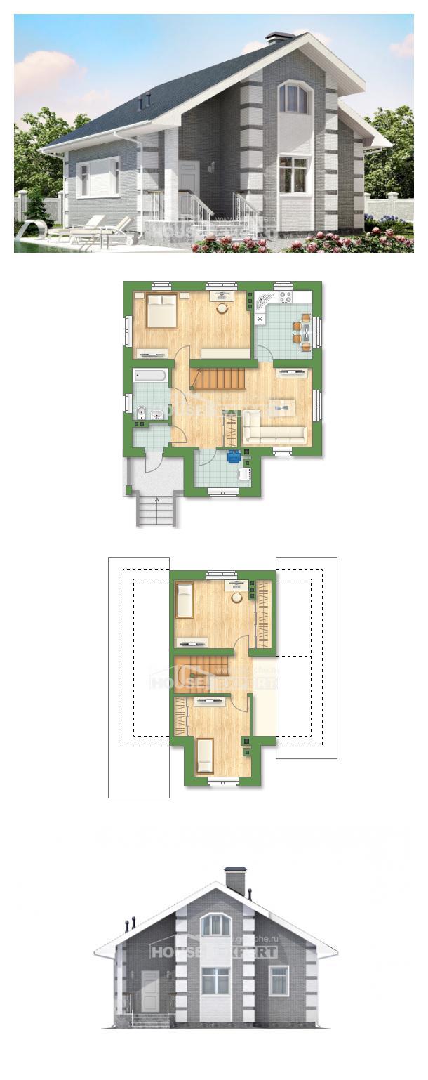 Проект дома 115-001-Л   House Expert
