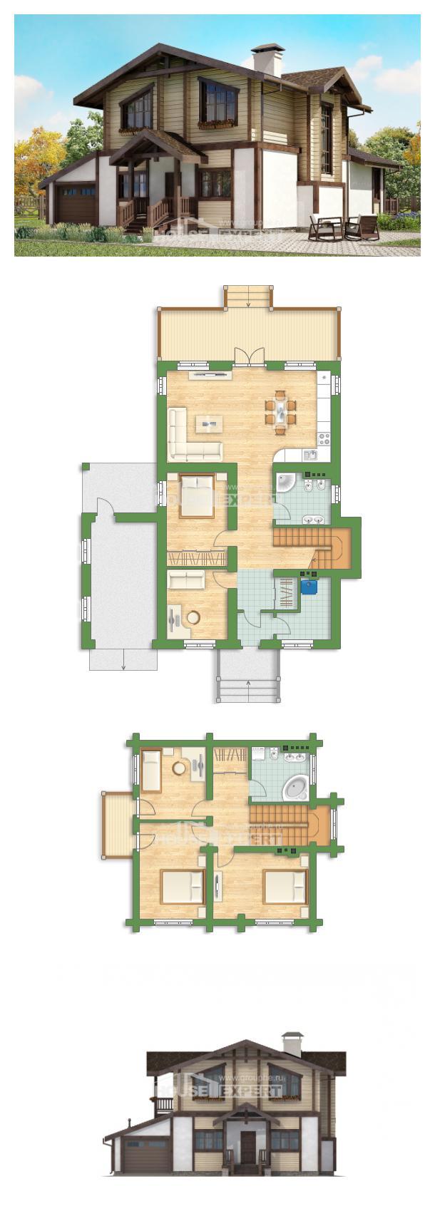 Проект дома 190-004-П | House Expert