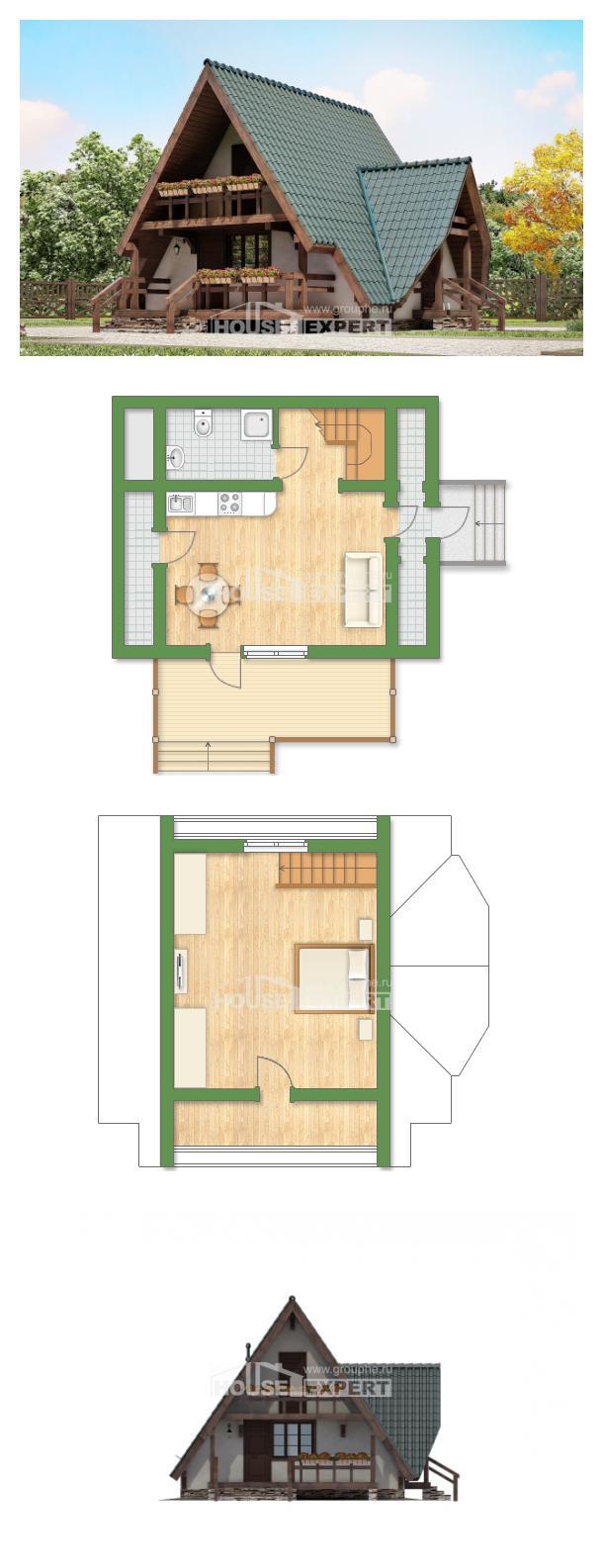 Проект дома 070-003-П   House Expert