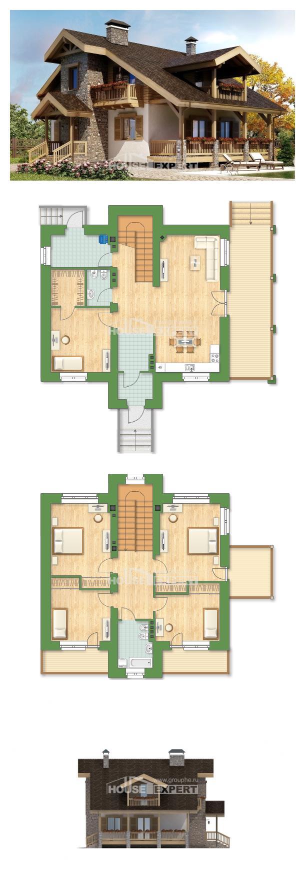 Проект дома 150-004-П | House Expert