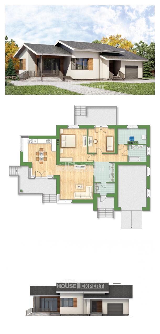 Проект дома 135-002-П | House Expert