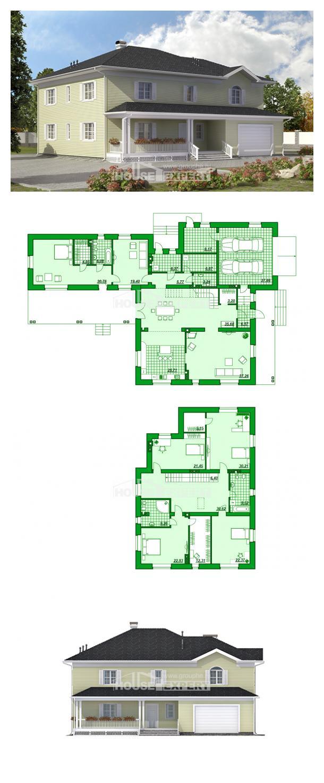 Проект дома 410-002-Л | House Expert