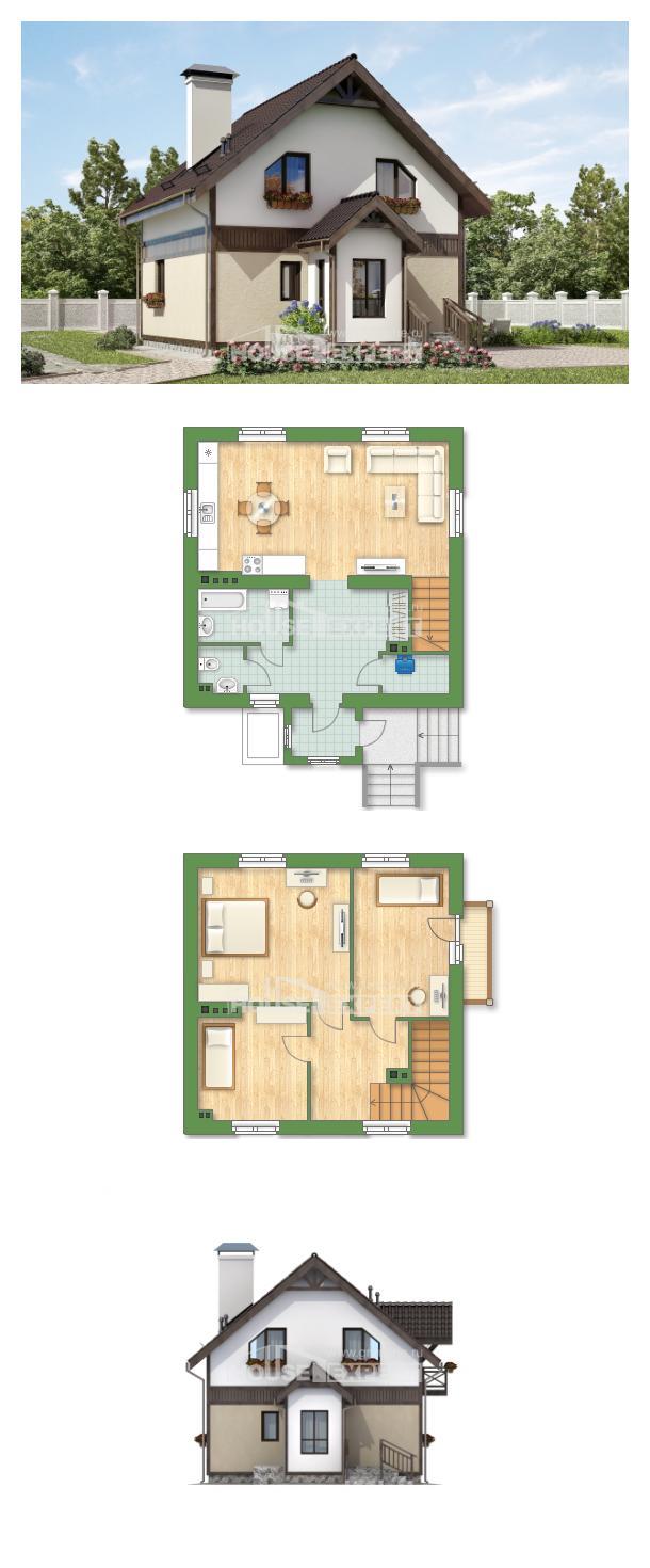 Проект дома 105-001-П   House Expert