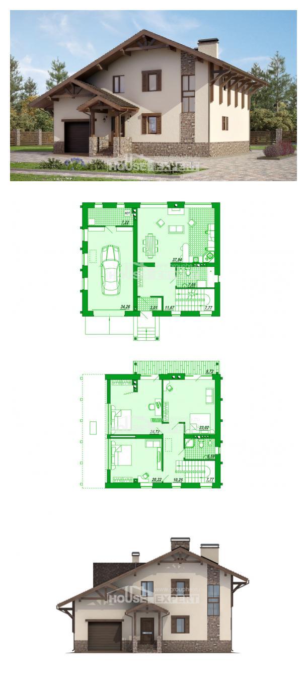 Проект дома 190-007-Л | House Expert