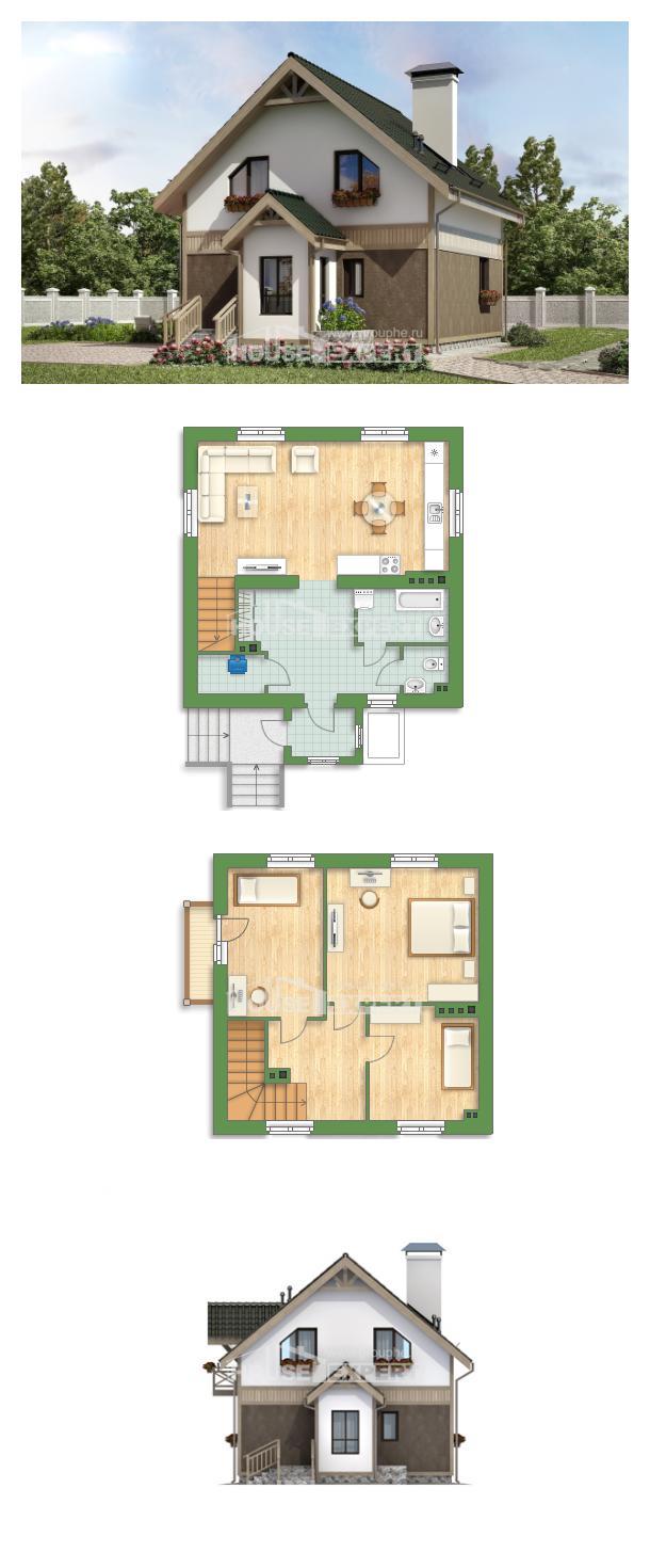 Проект дома 105-001-Л | House Expert
