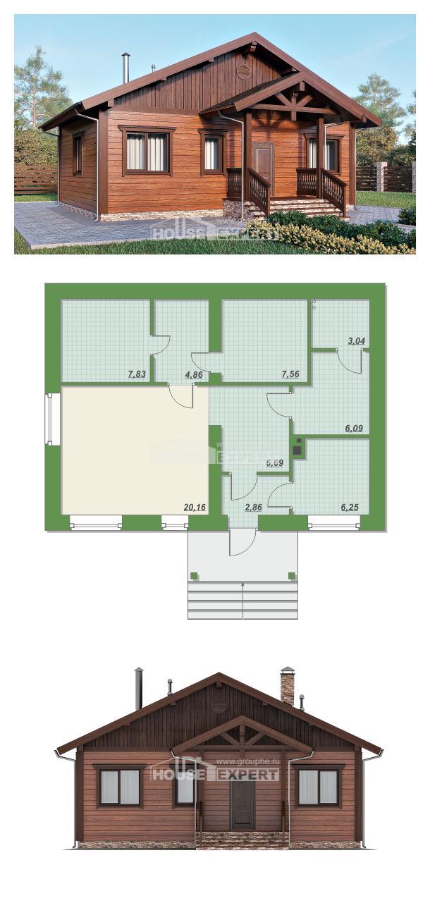 Проект дома 065-001-П | House Expert