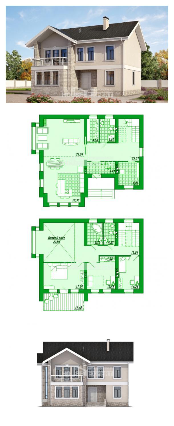 Проект дома 170-008-Л   House Expert